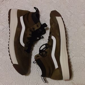 VANS ULTRARANGE leather tennis shoes